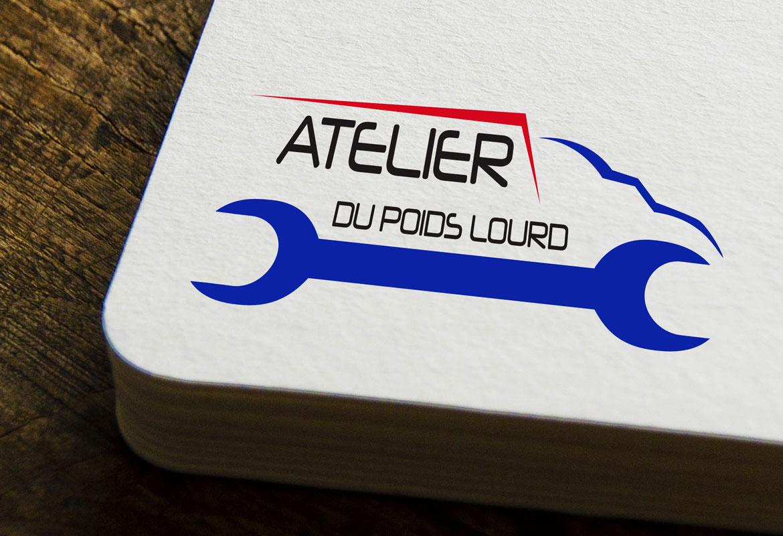 Logo Pour Atelier Du Poids Lourd