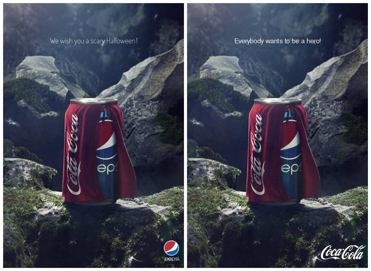 La Guerre Des Pubs : Coca Vs Pepsi